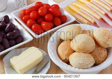 Brazilian Snack Pao De Queijo (cheese Bread)