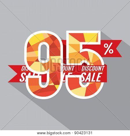 Discount 95 Percent Off.
