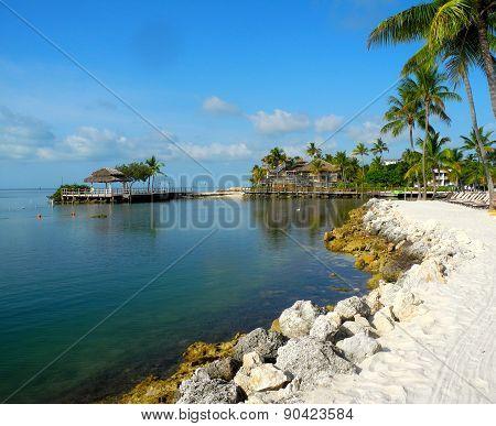An Upper Keys Beach in Florida