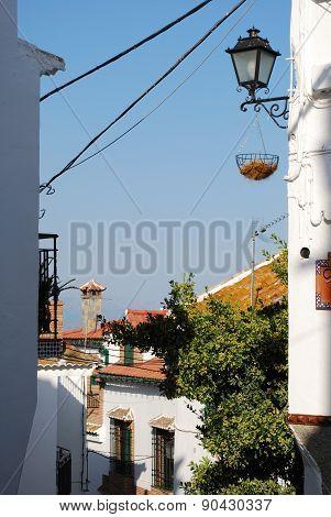 Village buildings, Comares.