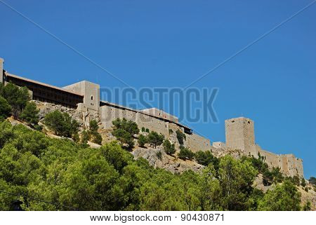 Spanish castle, Jaen.