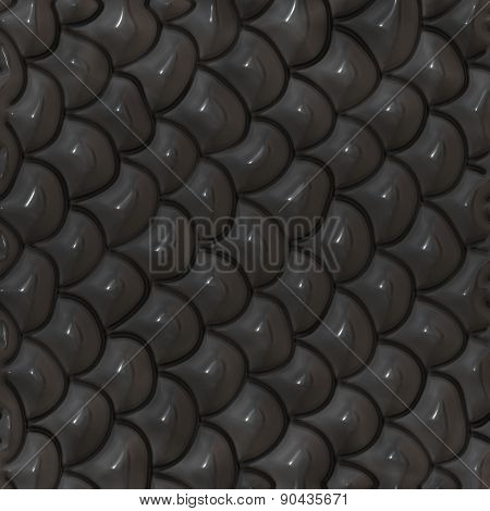 Seamless Reptile Scale Background