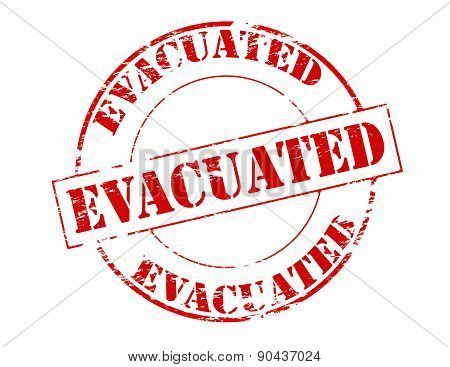 Evacuated