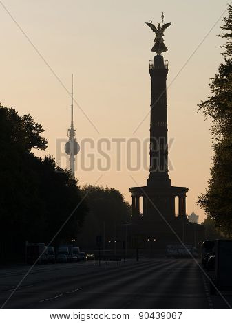 Television Tower And Victory Column