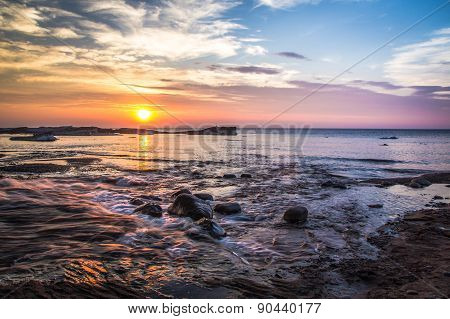 Coastal Landscape Sunset