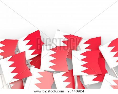 Flag Pin Of Bahrain