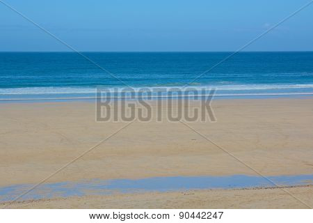 Porthmeor Beach, St.ives, Cornwall,UK