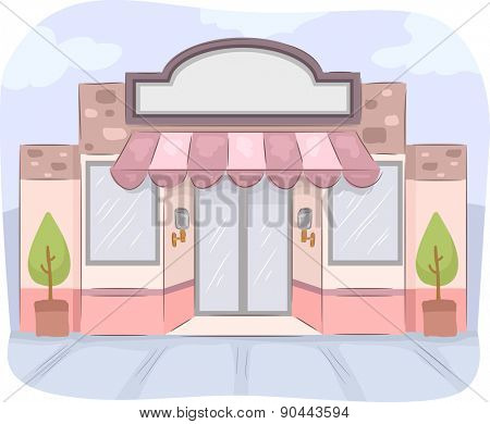 Illustration of a StoreFront