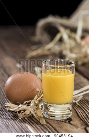 Fresh Made Egg Liqueur