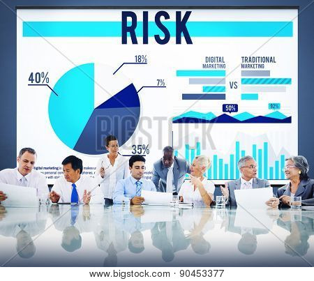 Risk Danger Hazard Problem Choice Concept