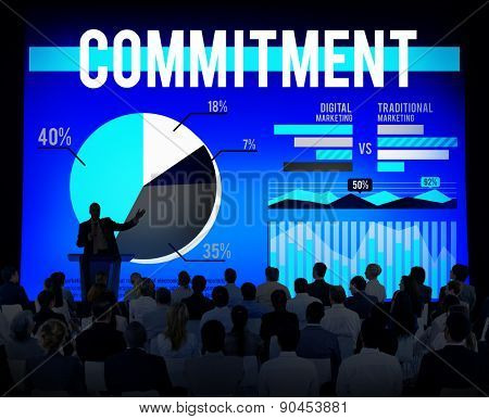 Commitment Business Trust Loyalty Conviction Concept