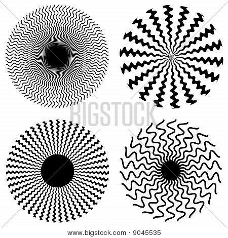 Zig Zag Spirals