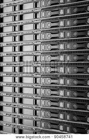 hardware in internet data center room