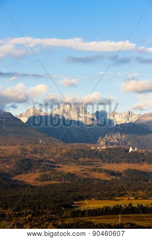 Krivan Mountain and Western part of High Tatras, Slovakia