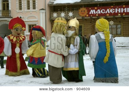 Send-Off Of Russian Winter, Ïðîâîäû Ðóññêîé çèìû