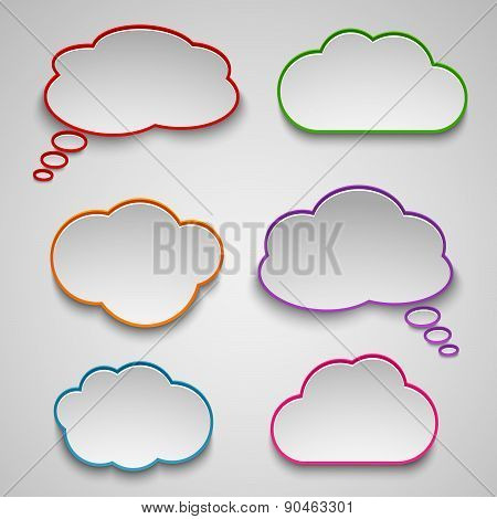 Pointers Like Colored Clouds Template