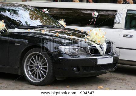 Decorated Wedding Cars