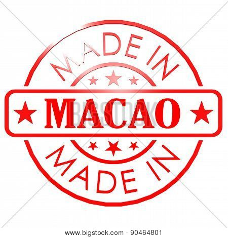 Made In Macao Red Seal