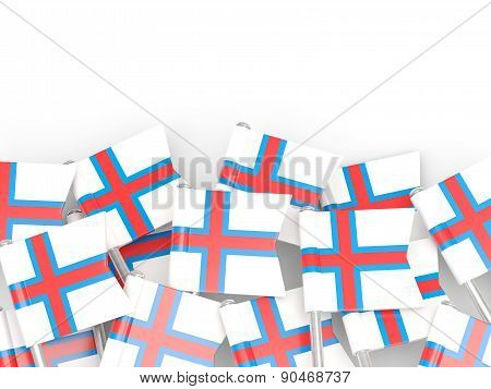 Flag Pin Of Faroe Islands