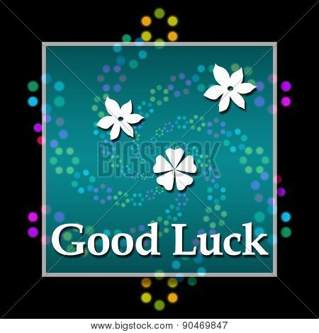 Good Luck Black Colorful Elements