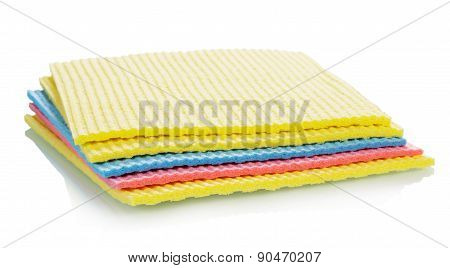 Colorful Cleaning kitchen sponges