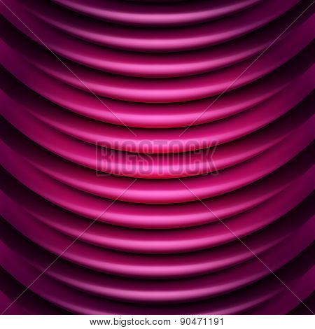Multicolor background illustration of wavy folds