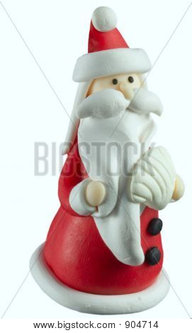 Santa With Seashell