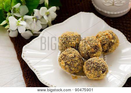 candies chocolate truffles
