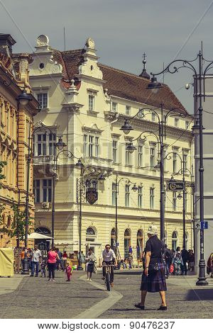 The Great Square, Sibiu, Romania