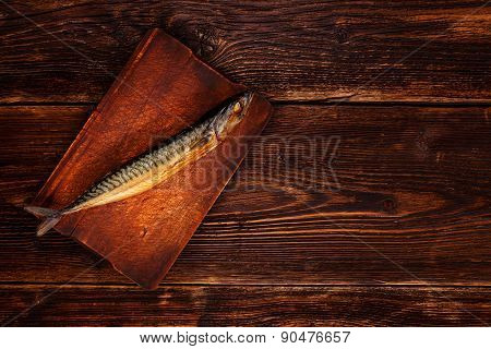 Vintage Style Fish With Copy Space.