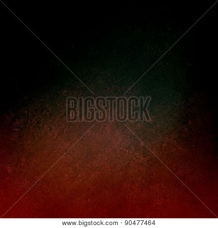 black background with red grunge textured border