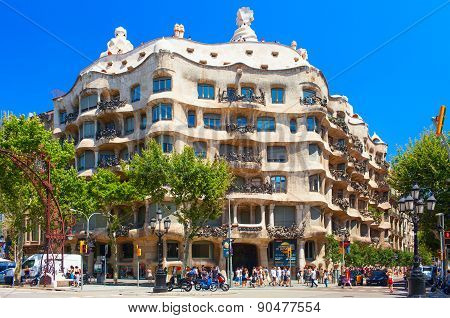 Casa Mila or La Pedrera building