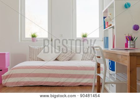 Beauty Pastel Room For Schoolchild