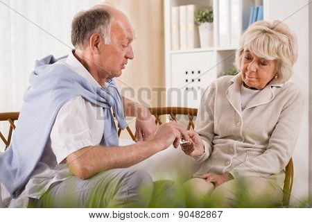 Senior Marriage At Home