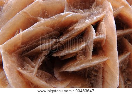 Desert Rose Mineral Background