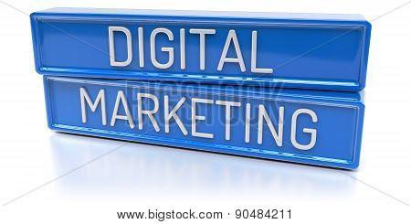 Digital Marketing - 3D Render