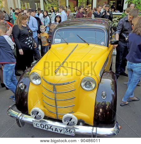 Soviet Small Family Car Of 1950S Moskvitch 400/401