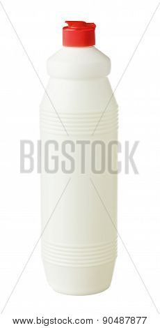 White Bottle With Red Cup