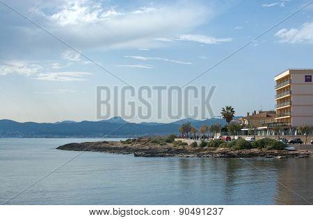 Bay view towards Palma