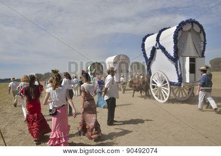 Pilgrims Of El Rocio