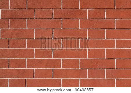Restored Old Brick Wall
