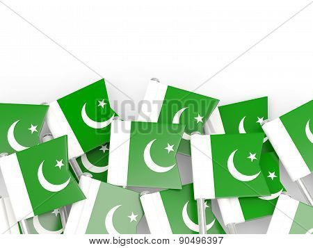 Flag Pin Of Pakistan