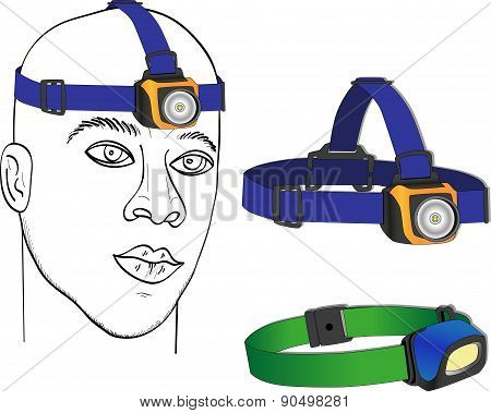 Tourist headlamp