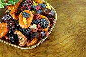 picture of prunes  - Assorted dried fruits  - JPG