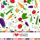 pic of recipe card  - Recipe card template with text space surrounded by fresh vegetables  and spices with assorted dried Italian pasta - JPG