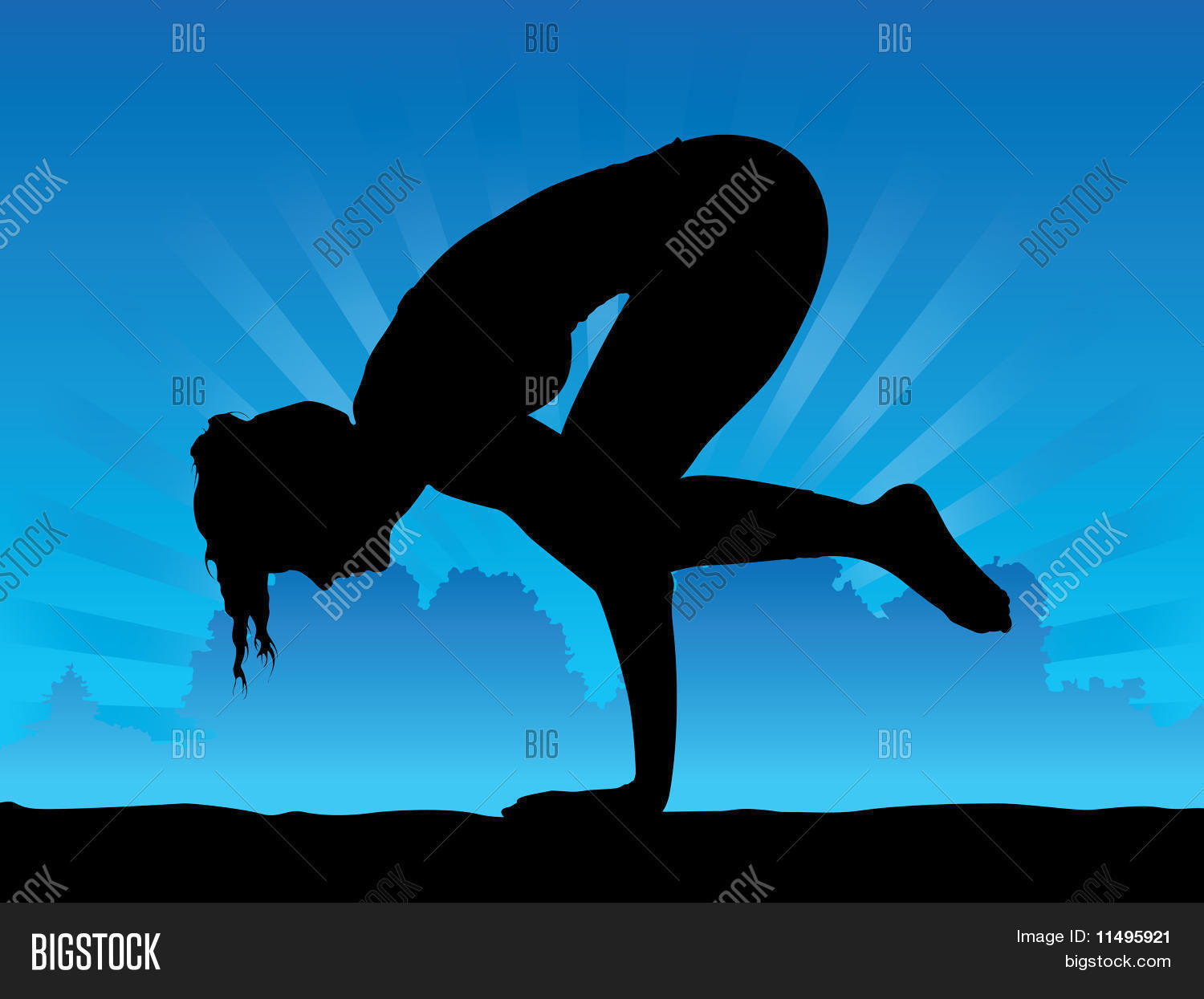 Crow Pose Silhouette | www.pixshark.com - Images Galleries ...