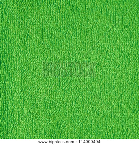 Terry cloth towel texture