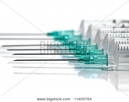 Row Of Syringes