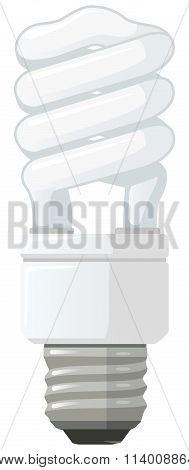 Energy Saver Bulb Vector Derivative