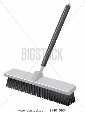 Push Broom Such As In A Warehouse